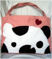 Omnomnom Panda Tote by quacked
