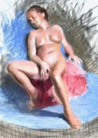 Seated Nude by DonIon