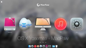 OS X Yosemite - Macpaw by AppleIconDesign