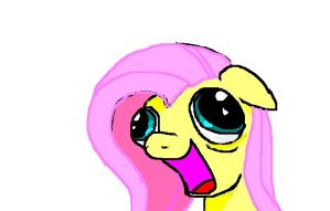 Cocaine Addict Fluttershy by MasterJosh140