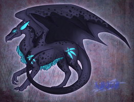 Dragon for TribalBluePichu by Julkkuli