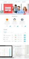 Cravious - Job Portal PSD Template by KL-Webmedia