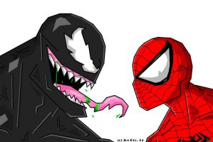 JoeProCEO's Spider-Man V. Venom by JoeProCeo