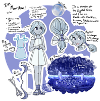 Moonstone reference by BeautySnake
