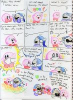 Kirby comic numb.1 by Mickeymonster