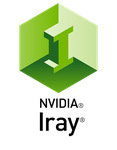 NVIDIA Iray Logo Vertical by sodacan