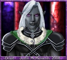 Drizzt Do'Urden Painting by Irishmile