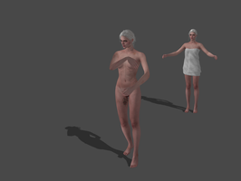 THE WITCHER 3 - CIRI TOWEL OUTFIT by Oo-FiL-oO