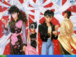 Yu Yu Hakusho wallpaper by Maria-Speed