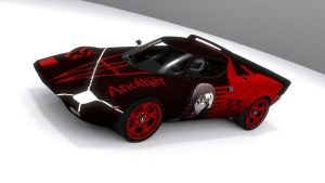 Lancia Stratos HF Stradale Another by skytire