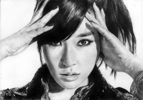 Tiffany (SNSD) Drawing by Glitter-Box