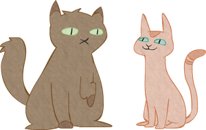 Cats by LouiseWeird