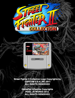 Street Fighter II Collection apps SNES icon by jays838