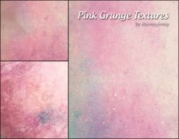 Pink Grunge Textures by ibjennyjenny
