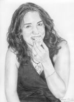 Portrait of a friend by McGovernArts