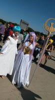 anime Friends 2015 - 19/07  Aria and Saori by aprict