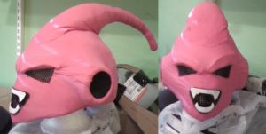 Kid Buu WIP by MonkeyHeartless