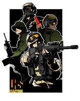 Support Your Troops in Color by silentbackground