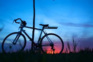 BikeSUnset by ExcessiveThoughts