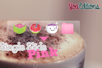 Single Pink Slide for Xwidget by yoaeditions