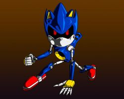 Metal Sonic by Chaos-Le-Mieux