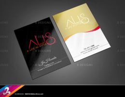 ALIS Business Card and Logo by AnotherBcreation