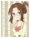 .Happy New Year. by lNeko-Hime
