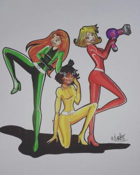 Totally Spies by Laefey