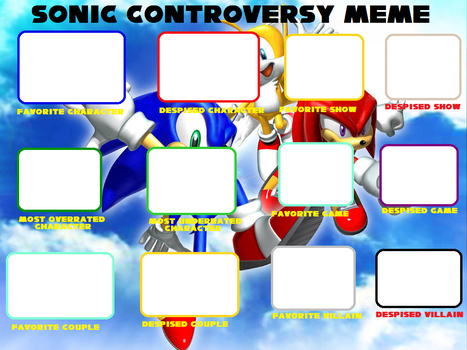 Sonic Controversy Meme Updated by sonicmechaomega999