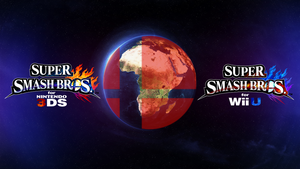 Super Smash Bros. Wii U/3DS Logo Wallpaper #69 by TheWolfBunny