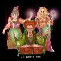 Hocus Pocus - The Sanderson Sisters by Toblerone22