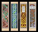 (Mostly) Celtic Bookmarks by one-rook