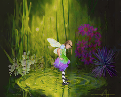 Fairy Puddle by jantheempress