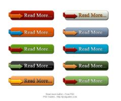 READ MORE PSD BUTTONS by FreePSDDownload