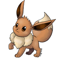 #133 Eevee by allocen