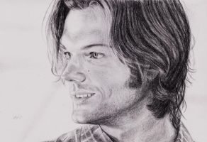 Jared Padalecki II by 220kruger