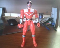 Time Red Time Force Ranger by Alucard4