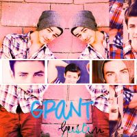 Blend Grant Gustin by FriEvans