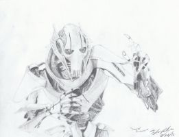General Grievous by MillenniumFalsehood