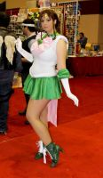 Super Sailor Jupiter by HoodedWoman