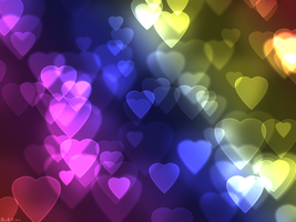 Heart Bokeh by HimeGabi