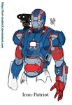 Iron Patriot by XSol-StudiosX