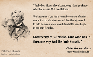 The hydrostatic paradox of controversy... by rationalhub