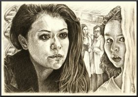 Orphan Black by HMissXX