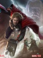 Thor Avengers by MuffinPixie