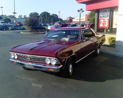 1966 Chevrolet Chevelle by Shadow55419