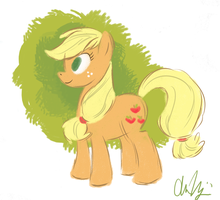 Applejack by RomaniZ