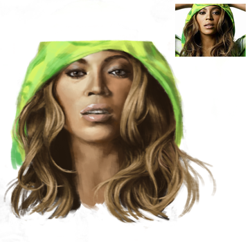 Beyonce by EtchedFall