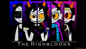 :::THE HIGHBLOODS WALLPAPER::: by princelupin