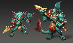 Fishmen by Prospass